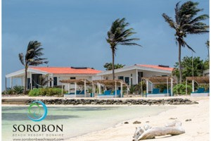Sorobon Beach Resort is the only resort/ hotel directly situated at Lac Bay. If you book a room through this website you will be offered a special rate from June 10th up to June 20th 2016.