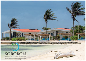 Sorobon Beach Resort is the only resort/ hotel directly situated at Lac Bay.If you book a room through this website you will be offered a special rate* from June 10th up to June 20th 2016.